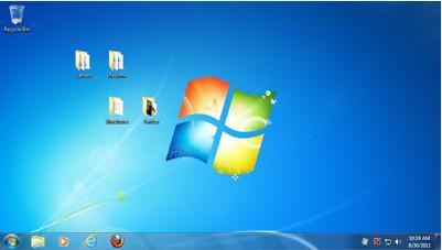 Windows 7 после запуска