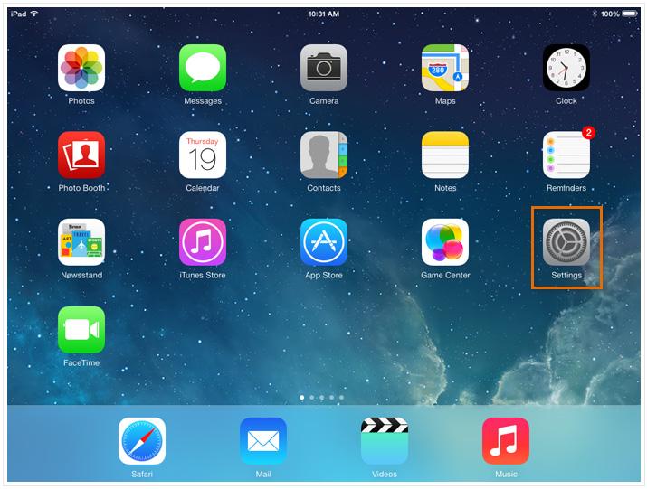 Wi-Fi iPad