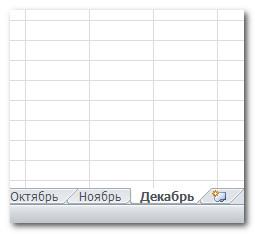 Программа Excel 2010-основы работы с листами