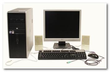 Подключение и установка компьютера