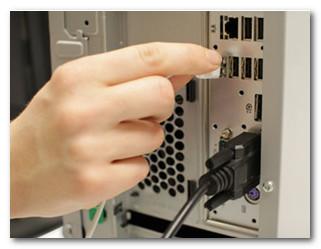 Подключение клавиатуры через USB порт