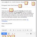 Как написать и отправить электронную почту?