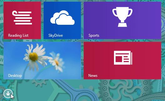 Показать все приложения Windows 8