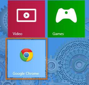 Закрепленное приложение WIndows 8