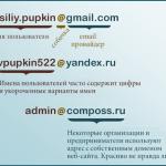 Что такое электронная почта (email)? Инфографика