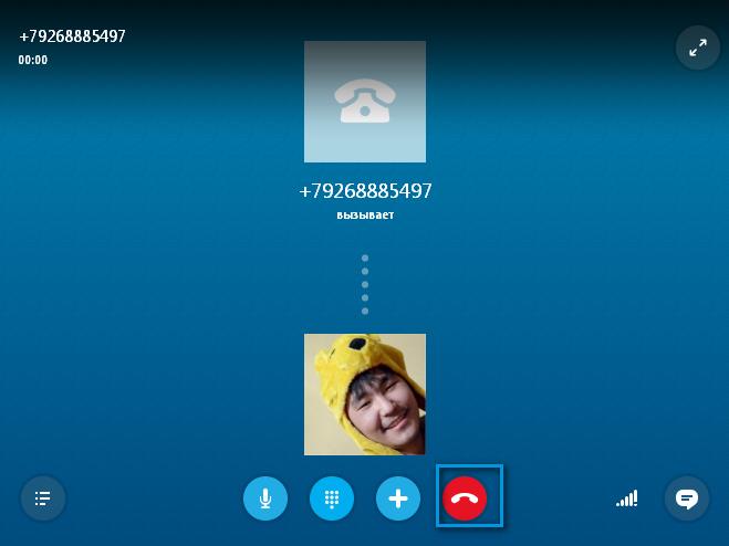 Платные услуги в Skype - звонок на телефон