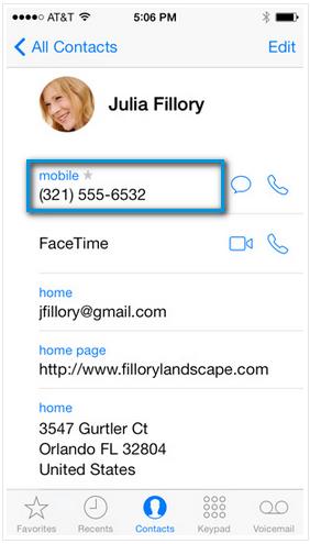 Как позвонить iPhone
