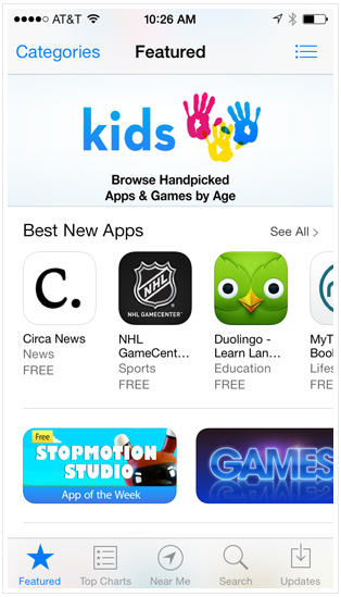 Приложения для Айфон - App Store