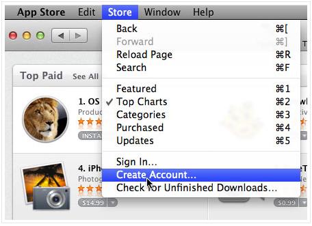 Создать аккаунт Apple ID с помощью iTunes