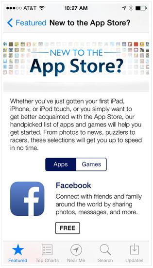 App Store о приложении