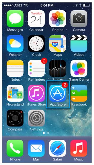 iPhone - обновление приложений
