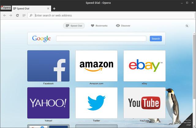 Opera для Линукс