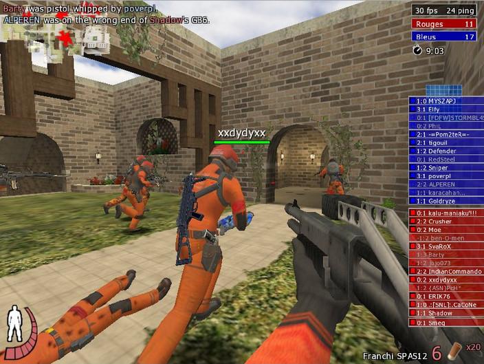 Urban Terror - Linux игра