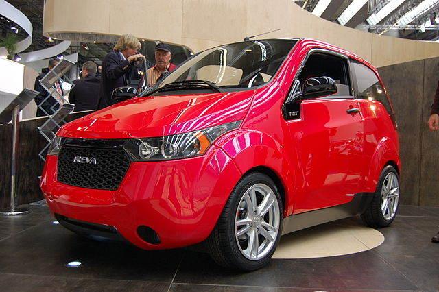 Электромобиль Mahindra E20