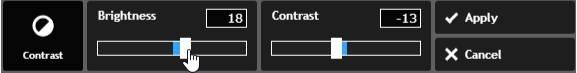 Pixlr contrast 2