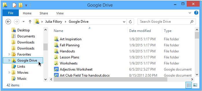 Гугл диск для рабочего стола