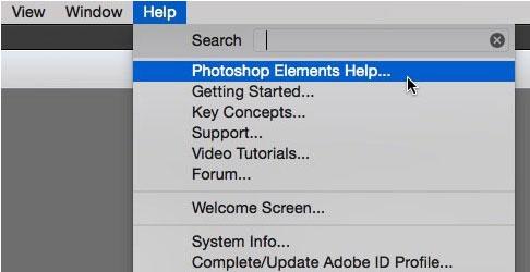 Справка Adobe Photoshop
