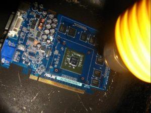 Прогревание чипа