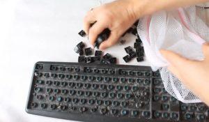 Извлекаем все клавиши