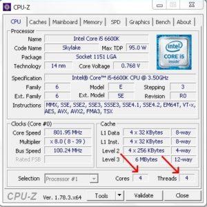 Полезная программа CPU-Z