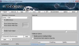Используем VCDGear
