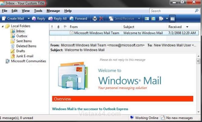 Как сделать свое расширение на почте