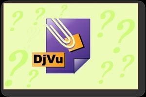 Что за формат djvu