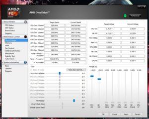 Использование AMD Overdrive