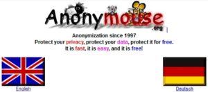 Используем анонимайзер