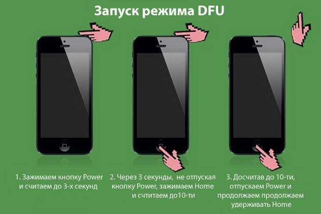 Как использовать режим DFU