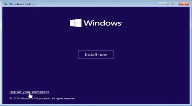 Восстановление компьютера
