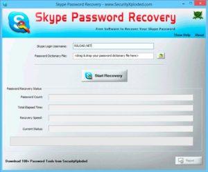 Программа восстановления пароля