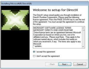 Требуется обновление DirectX