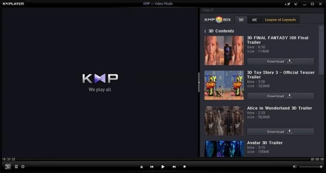 Программа The KMPlayer