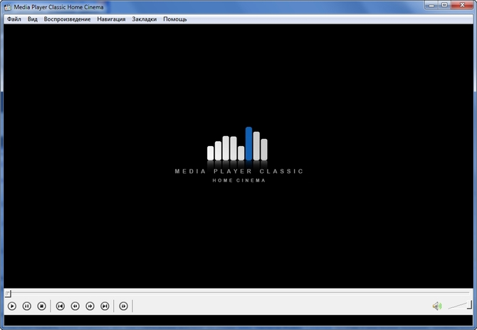 Открываем формат с Media Player Classic
