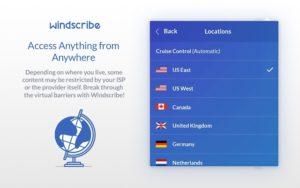 Используем Windscribe