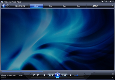 Приложение Windows Media Player