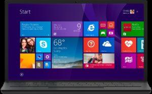 Размер Windows 8