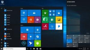 Размеры Windows 10