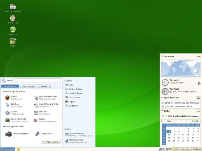 ОС openSUSE