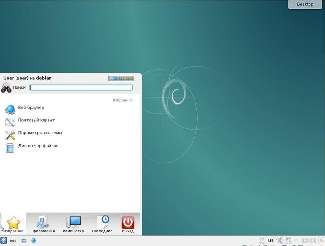 Использование Debian