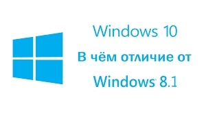 Отличия Windows