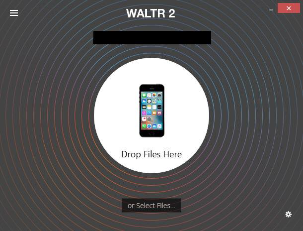 Приложение WALTR