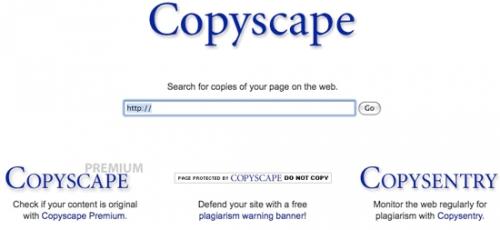 Ресурс Copyscape