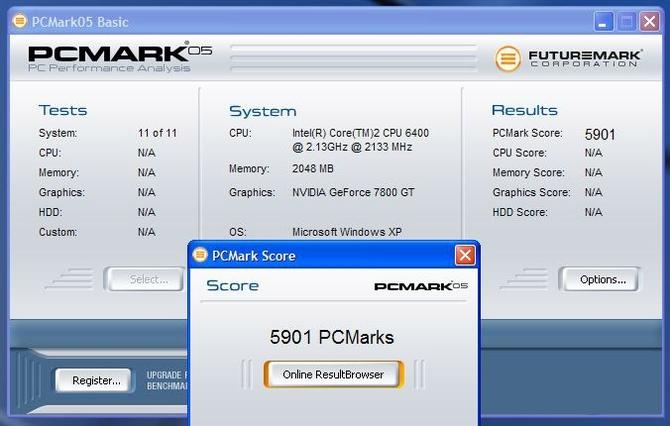 Как пользоваться PCMark