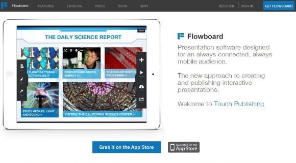 Используем Flowboard