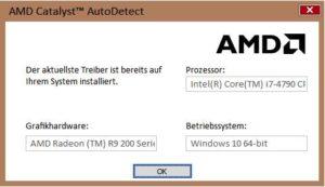Автообновление AMD