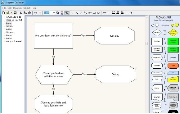 Приложение Diagram Designer
