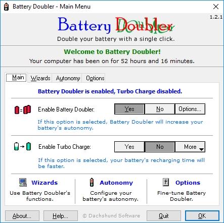 Используем Battery Doubler