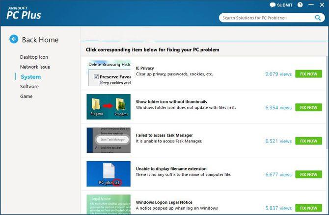 Приложение Anvisoft PC PLUS